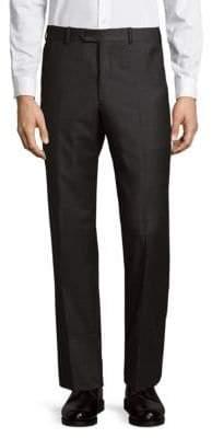 Armani Collezioni Front Pleat Trousers