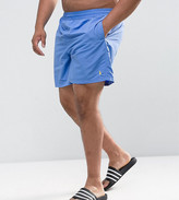 Polo Ralph Lauren Plus Swim Shorts Nylon In Blue