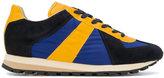 Maison Margiela retro runner sneakers - men - Calf Leather/Leather/Nylon/rubber - 43