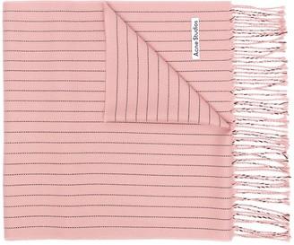 Acne Studios Striped Wool Scarf