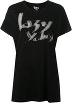 Yohji Yamamoto Lazy Yohji T-shirt - women - Cotton - 2
