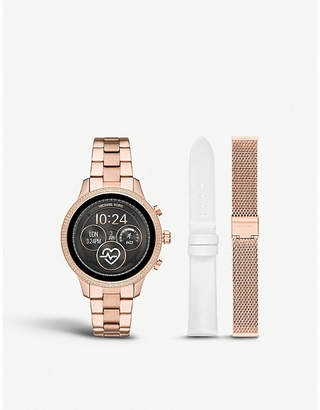 Michael Kors MKT5060 Runway rose-gold plated stainless steel watch