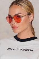 Colored Aviator Sunglasses