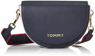 Tommy Hilfiger Staple Saddle Womens Cross-Body Bag