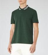 Reiss Phantom Piped Polo Shirt