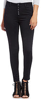 Celebrity Pink High Rise Button-Front Super Soft Skinny Jeans