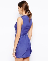 Finders Keepers Paper Ships Dress with Drape Detail