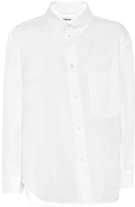 Balenciaga Twisted cotton shirt