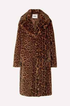 Stand Studio - Fanny Leopard-print Faux Fur Coat - Leopard print