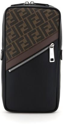 Fendi FF Motif One-Shoulder Backpack