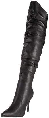 The Highest Heel Women's Rampage-11 Thigh-High Boot
