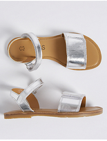 Marks and Spencer Kids' Leather Riptape Sandals