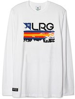 Lrg Men's Big and Tall Astro Grunge Long Sleeve Tee