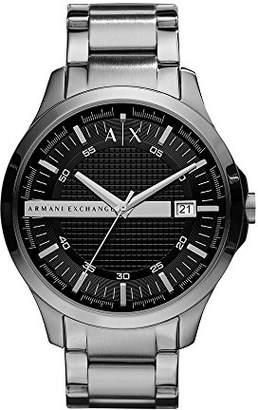 Armani Exchange Men's AX2103 Silver Watch