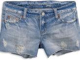 AE Cutoff Destroyed Denim Shorts
