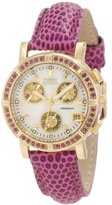 Invicta Women's 10314 Wildflower Chronograph Mother-Of-Pearl Dial Watch