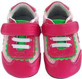 Jack & Lily Perforated Trainer - Pink, Size 18-24m