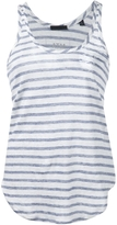 ATM Striped Linen Tank Top