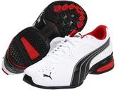Puma Tazon 5 (White/Black/Ribbon Red) - Footwear