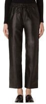 J Brand Women's Amari Crop Leather Pants