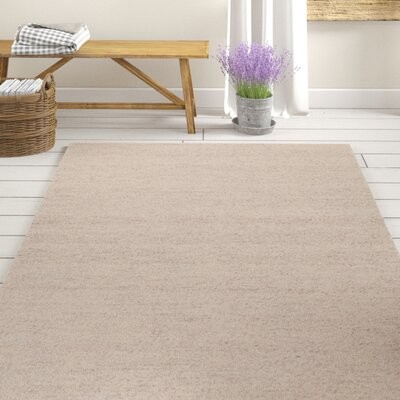 Gracie Oaks Kimora Handwoven Flatweave Beige Area Rug Rug Size Rectangle 5 X 7 6 Shopstyle