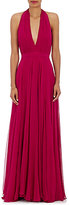 Prabal Gurung Women's Silk Chiffon Halter Gown-Pink