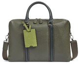 Ted Baker Men's Leather Document Bag - Green