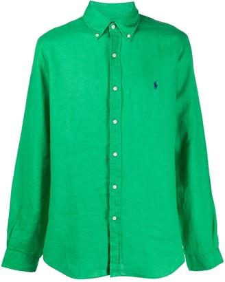 Polo Ralph Lauren Linen Long Sleeve Shirt