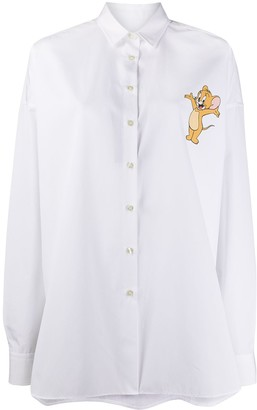 Etro x Tom and Jerry printed shirt