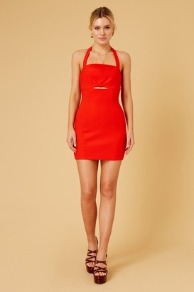 Finders Keepers NATALIA MINI DRESS Red
