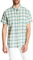 Billy Reid Tuscumbia Standard Fit Short Sleeve Shirt