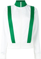 Ganni contrast trim fitted jacket