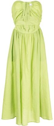 Marysia Swim Limone strapless dress