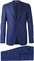 Canali pointed lapels two-piece suit - men - Cupro/Wool - 50