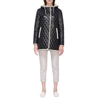 Fay Quilted Jacket With Hood