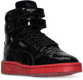 Puma Boys' Sky II Hi Patent Casual Sneakers from Finish Line