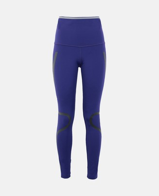 adidas by Stella McCartney Stella McCartney purple running tights