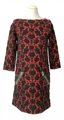 Louis Vuitton Red Wool Dresses