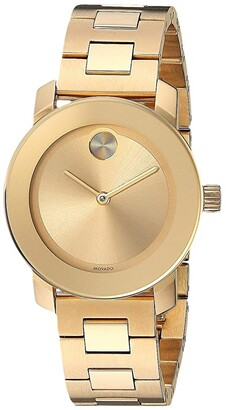 Movado Bold - 3600434 (Ionic Gold Plated Steel) Watches