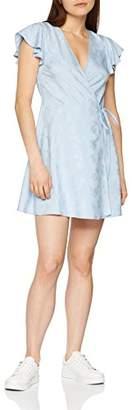 Miss Selfridge Petite Women's Jack Dress, Blue, (Size:)