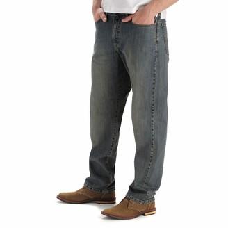 Lee Men's Big & Tall Custom Fit Loose Straight Leg Jean