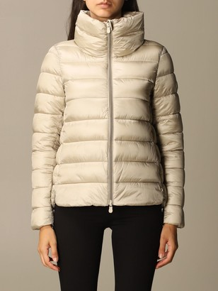 Save The Duck Jacket Irisy Down Jacket In Light Nylon With Hood