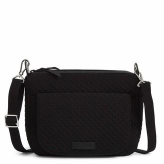 Vera Bradley Microfiber Carson Mini Shoulder Bag Crossbody Purse