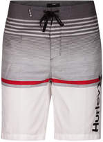 Hurley Men's Rafters Stripe Swim Trunks