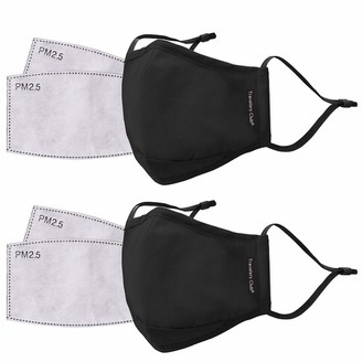 Travelers Club 2 Piece Fask Mask Plus 4 Air Filters Set