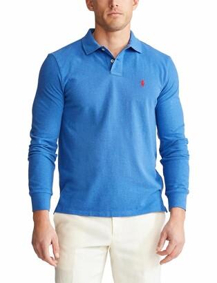 Polo Ralph Lauren Long-Sleeved Cotton Polo Shirt