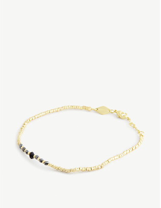 Anni Lu Candy Shop pearl and 18ct gold-plated bracelet
