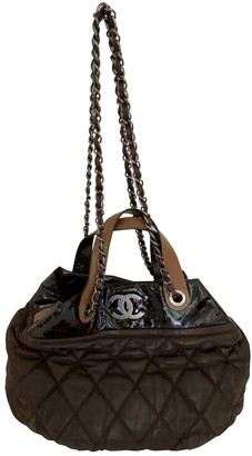 Chanel Brown Leather Handbags