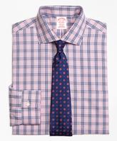 Brooks Brothers Non-Iron Regent Fit BB#10 Glen Plaid Dress Shirt
