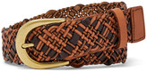 Fossil Woven Two-Tone Belt